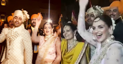 esha-dances-in-devesh-takhtani-wedding