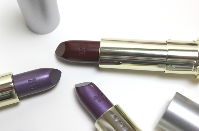 Urban Decay Vice Vintage Lipstick Collection Review
