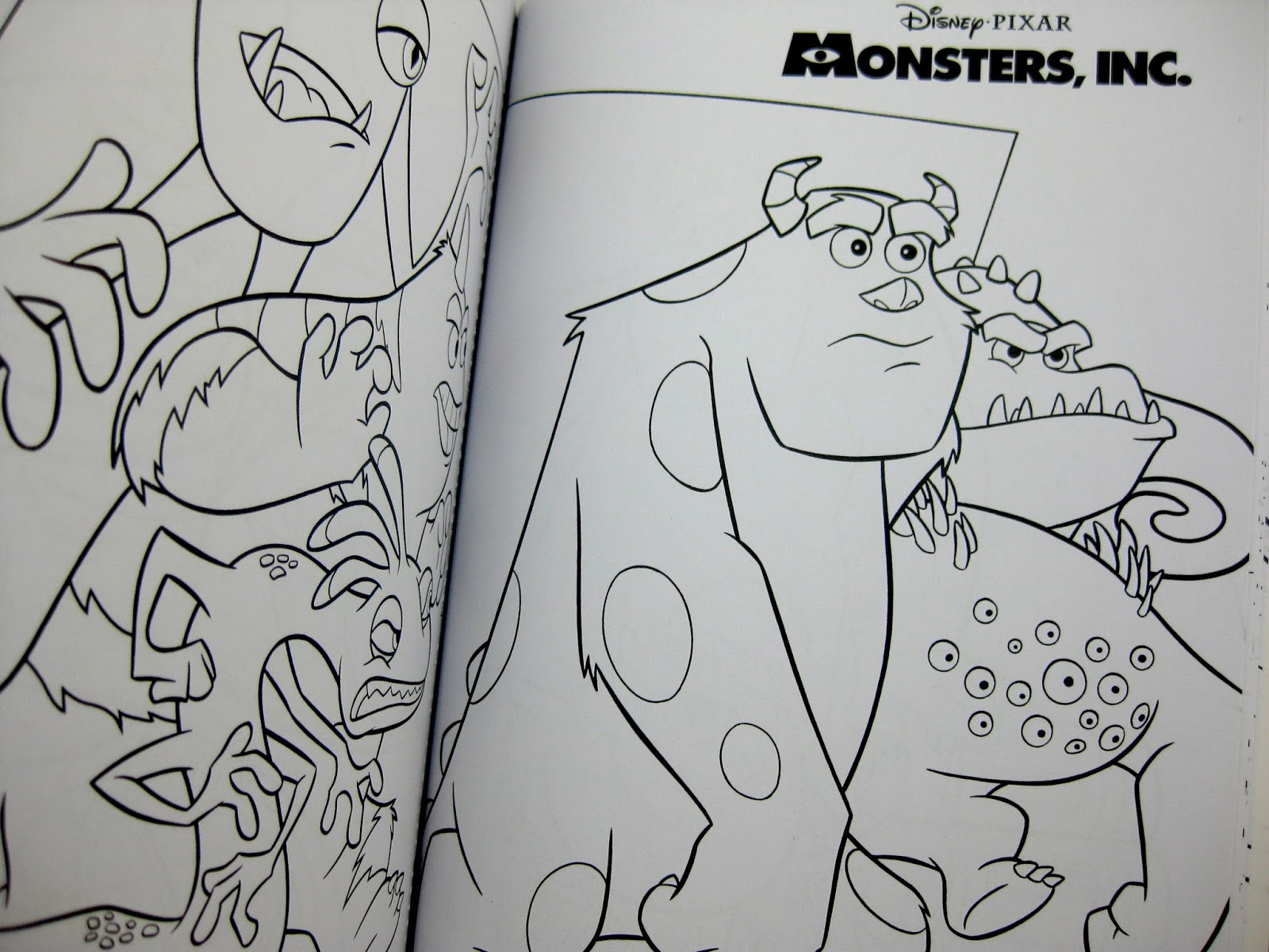 im very impressed with this release it has a lot more in it than i thought you can just tell its very good quality all around - Pixar Coloring Pages Monsters