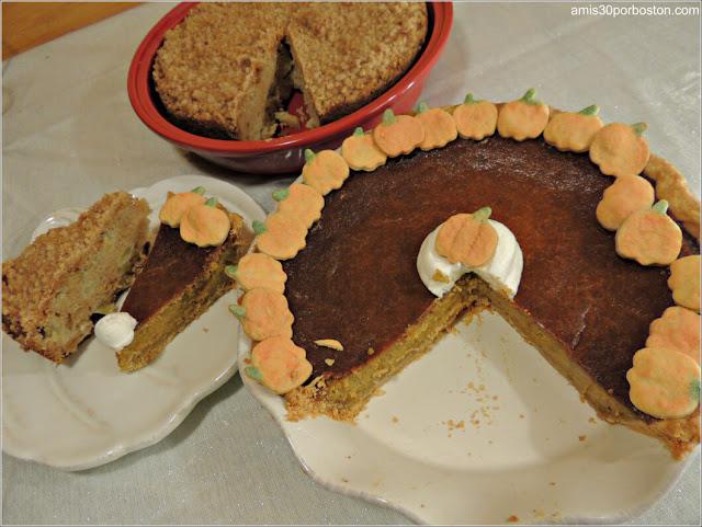 Tartas de Nuestra Cena de Acción de Gracias