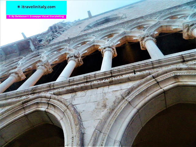 """Doge Palace Piazza San Marco Venezia Copyright """"All rights reserved"""" © By itravelinitaly.com travelers from Italy Baldassarri Giuseppe Visual Storytelling"""