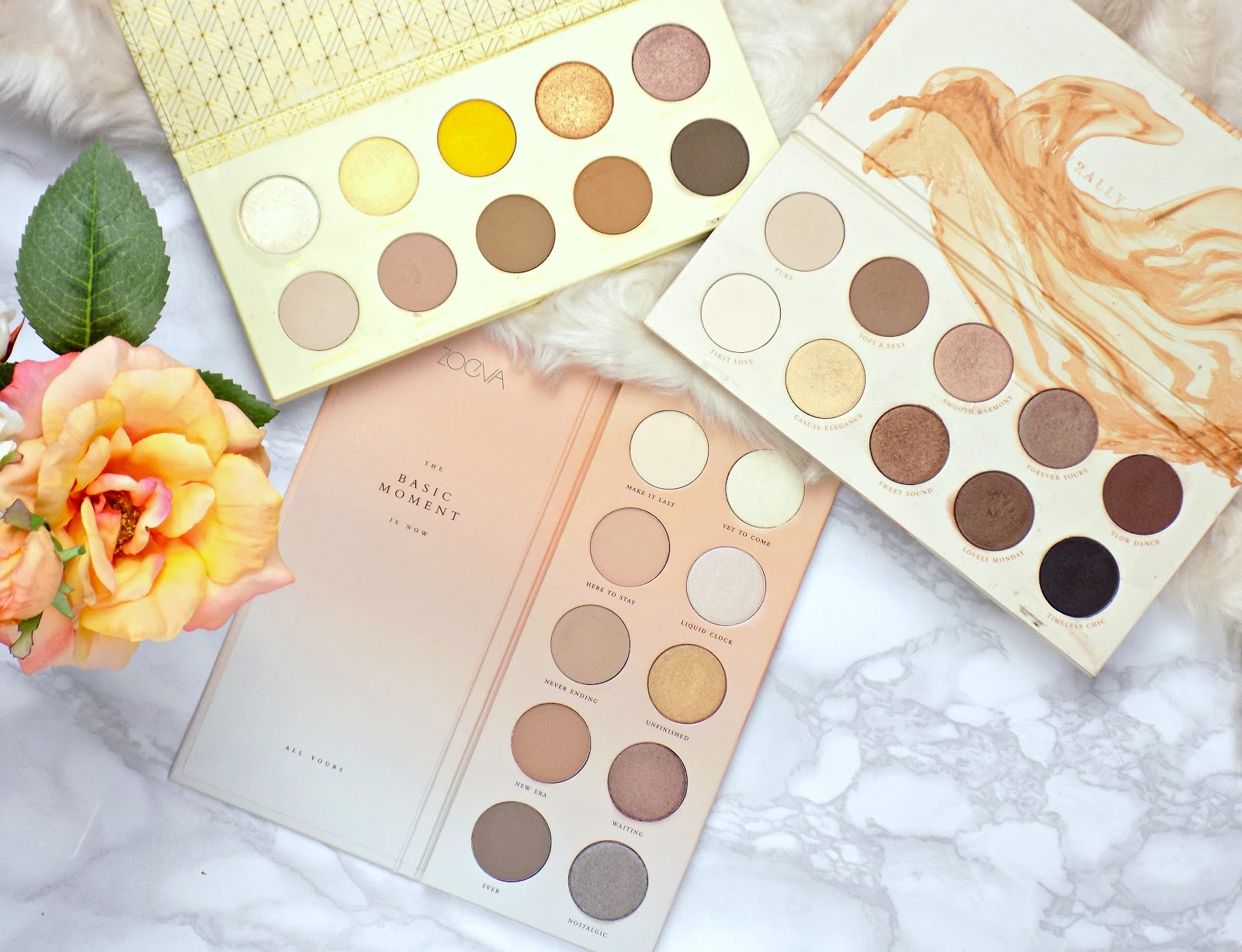 Zoeva neutral eyeshadow palettes