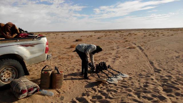 الذهب في الاراضي المحررة من الصحراء الغربية رغم المخاطر مهنة تزدهر