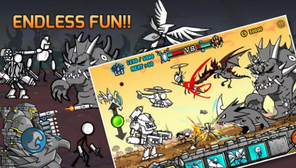 Cartoon Wars 2 Mod Apk
