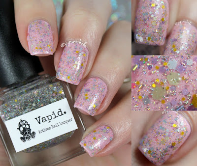 Vapid Lacquer Pretty Pretty Princess over Ishtar