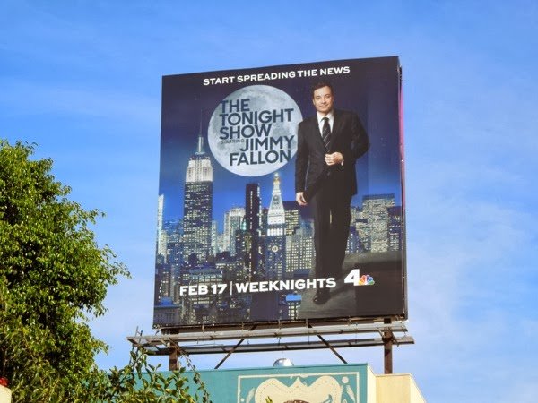 Tonight Show Jimmy Fallon billboard
