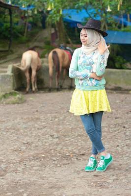 Model Hijab Simple Casual