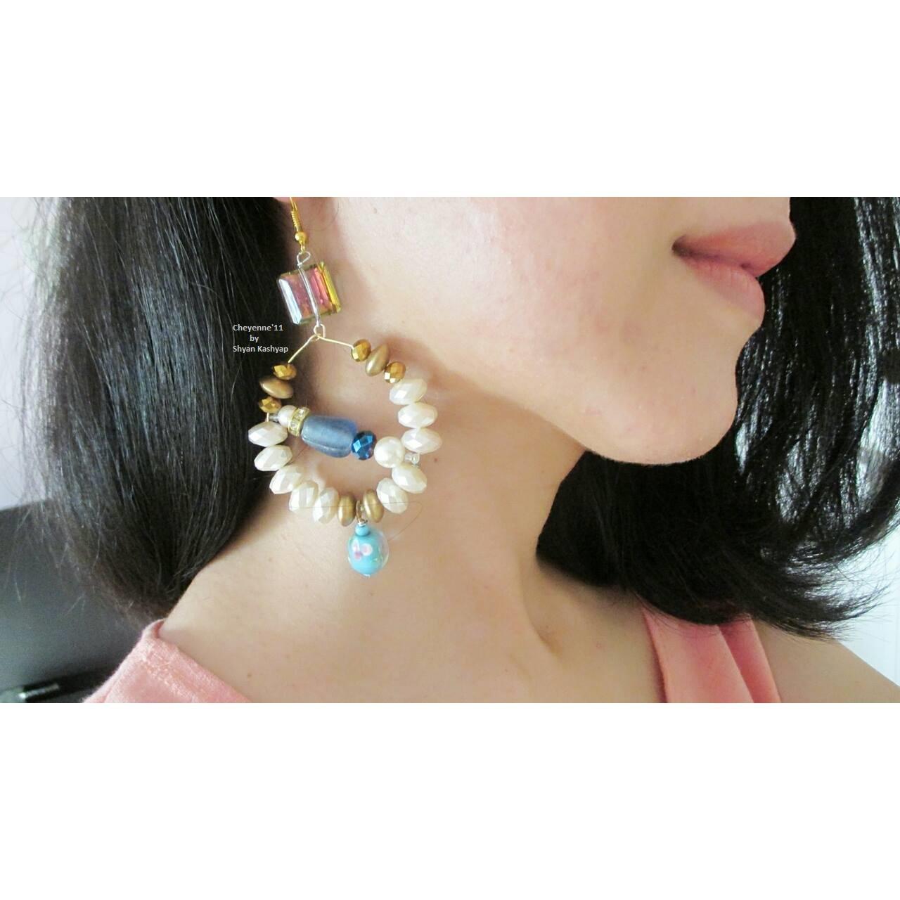 Victorian Indian Earrings