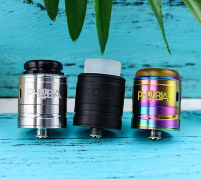 Another Dual Coil RDA | New Vandy Vape Phobia V2 RDA