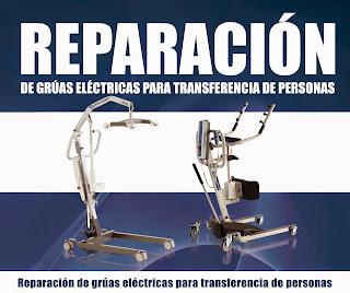 Reparación grúas de transferencia para personas