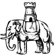 Blason escudo de armas elefante significado heraldica