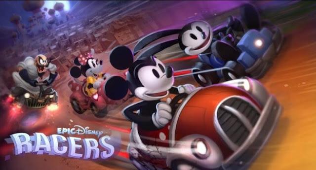 Echa un vistazo al proyecto cancelado Epic Disney Racers