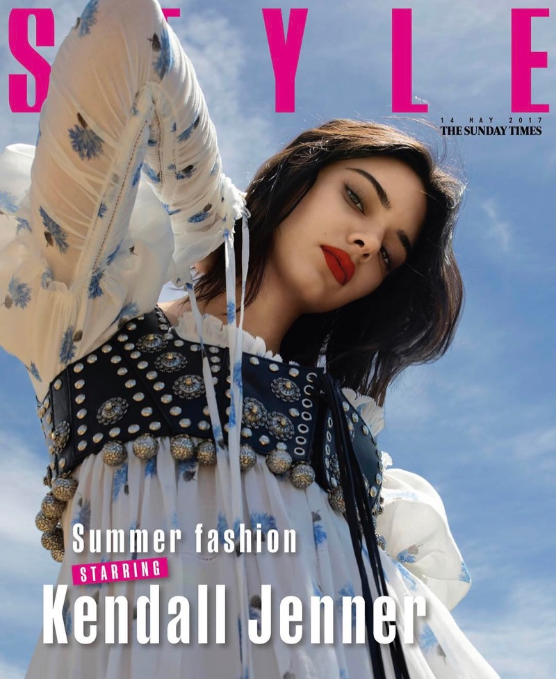 Kendall Jenner Stars in Sunday Times Style May 2017