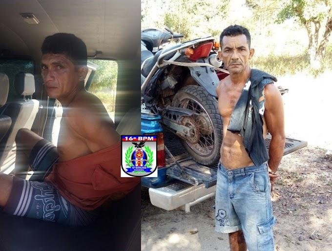 Em São Benedito, operação conjunta entre PMs, civis e GCM apreendem motos roubadas e drogas