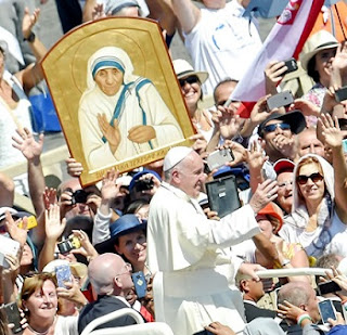 Mother Teresa Of Calcutta Declared SAINT By Pope Francis