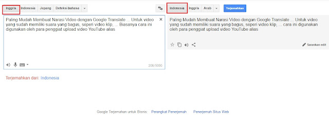 Buat Suara Narasi Video Youtube Dari Google Translate