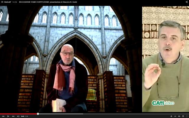 Serie video: EDUCAZIONE COME COSTITUZIONE