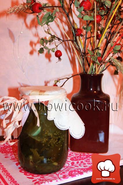 рецепт вкусных квашеных огурцов