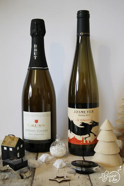 Concours Noël Vins d'Alsace Riesling Josmeyer Crément d'Alsace Gruss