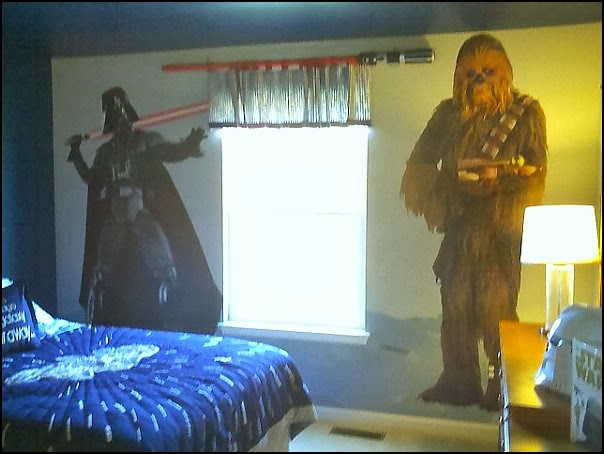 Decorating theme bedrooms maries manor star wars Star wars bedroom ideas