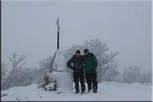 Itxogana mendiaren gailurra 1.063 m. -- 2017ko urtarrilaren 14an