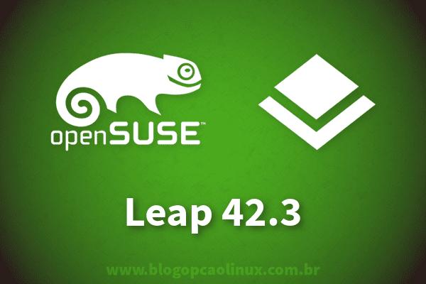 Lançado o openSUSE Leap 42.3, faça já o download!