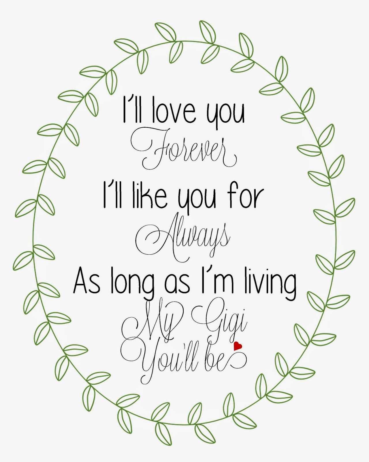 I Ll Love You Forever Quote: Ill Love You Forever Quotes. QuotesGram
