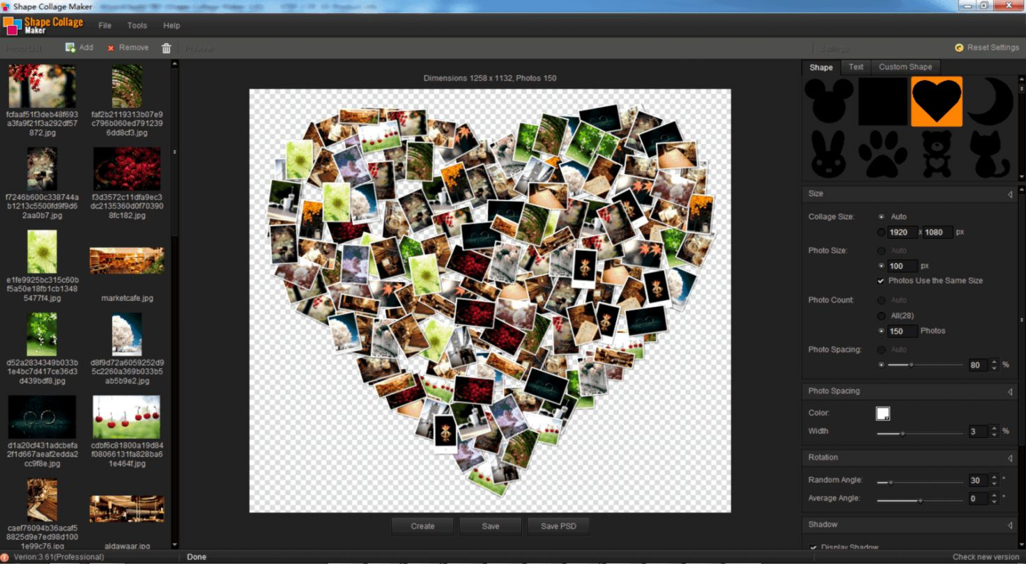 Computer Wallpaper Collage Maker MusicGames