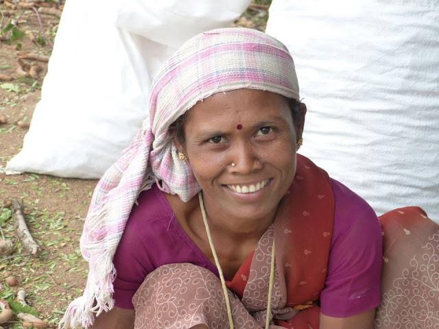 sourire femme inde du sud tamil nadu