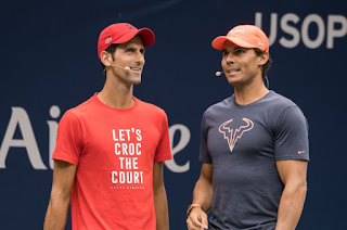 Rafael Nadal, Novak Djokovic on opposite sides of U.S. Open shot-clock controversy