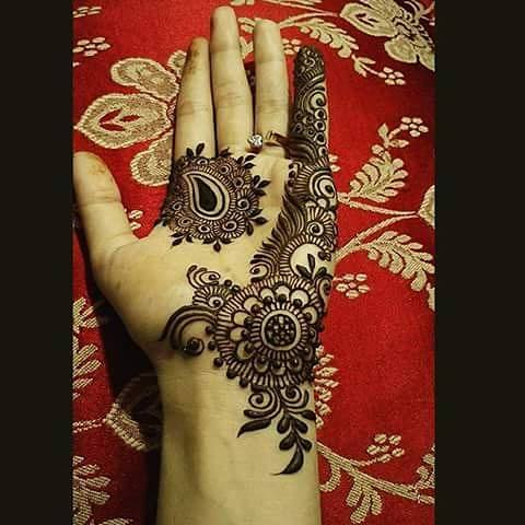 Mehandi Design for Hands 4