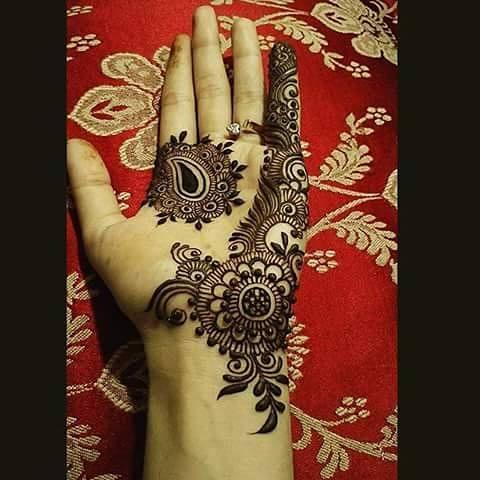 Mehandi Design for Hands 4
