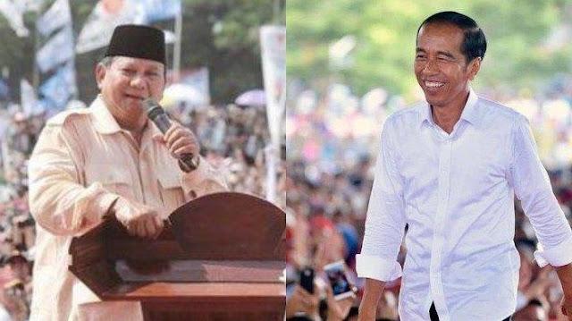Lihat Perbandingan Massa Jokowi Vs Prabowo saat Kampanye Akbar di Solo Jawa Tengah