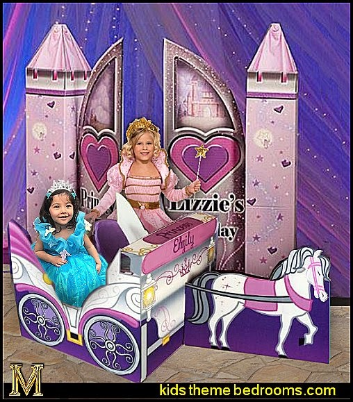 Princess Carriage Sit In Prop - 3d Castle Gate
