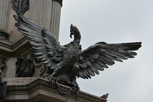 Main Square Quito eagle