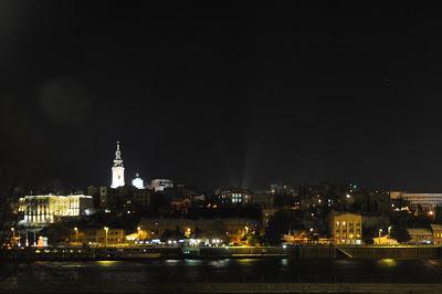 Belgrad bei Nacht // Beograd by night