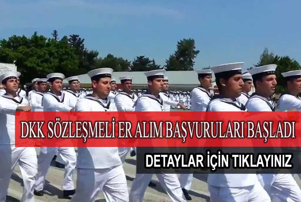 Deniz Kuvvetleri Sözleşmeli Er Başvuruları Başladı