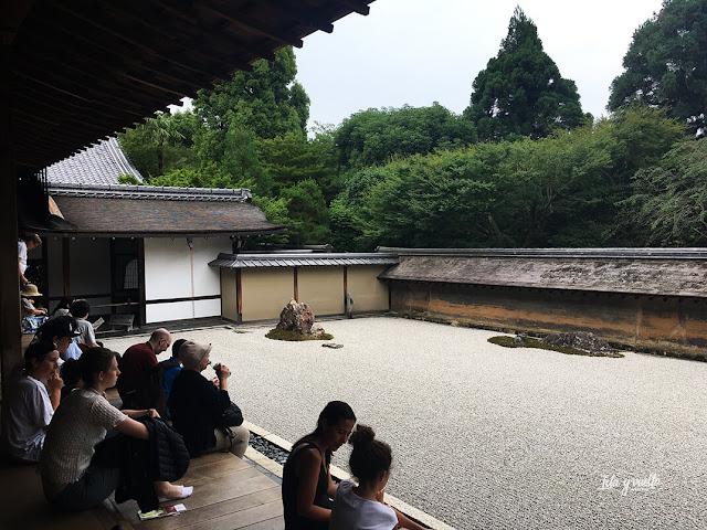 Templo Ryoan-ji y su jardín zen