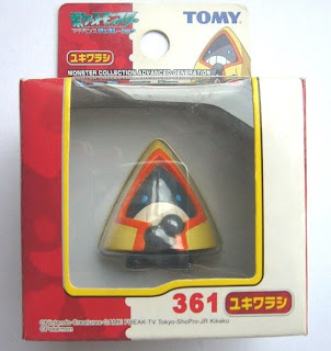 Snorunt Pokemon Figure Tomy Monster Collection AG series