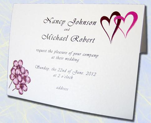 Undangan pernikahan formal bahasa inggris invitation contoh undangan dalam bahasa inggris cara belajar bahasa inggris stopboris Gallery
