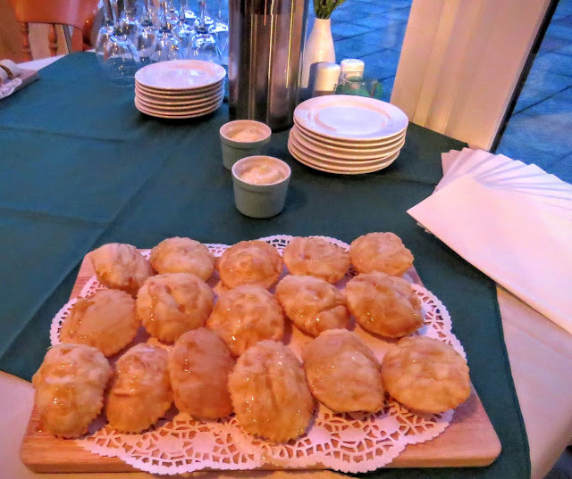 Savory sweet pastry pillows from Laura's of Carney in County Sligo, Ireland