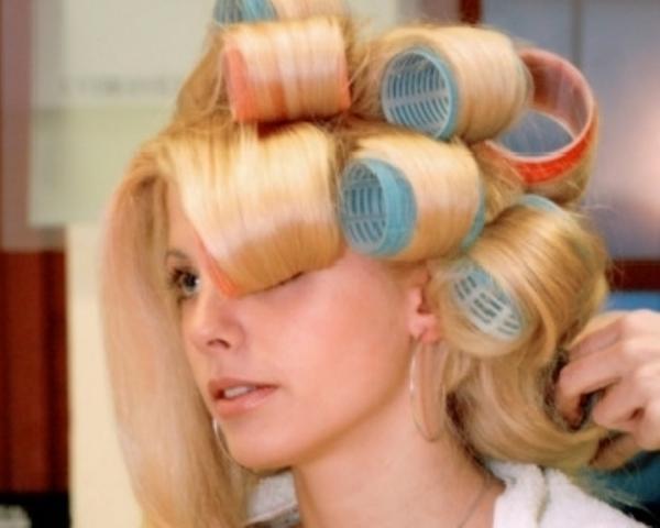 Pembagian Rambut Roll