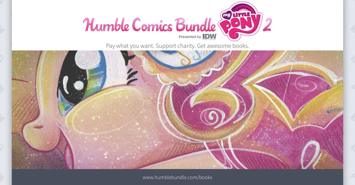 Luxury I hope you guys and gals like trade paperbacks cause this Humble Bundle has a boat load of them Like literally almost every single My Little Pony Comic