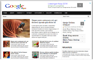 Template Google SEO