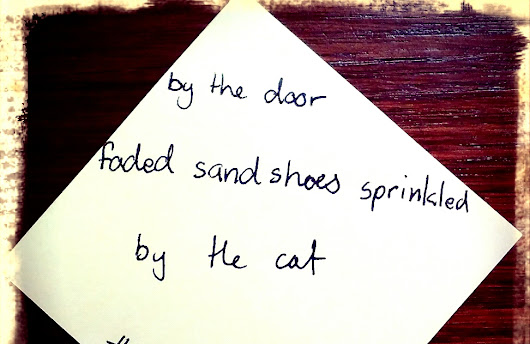 Post it Note Poetry - Day 13