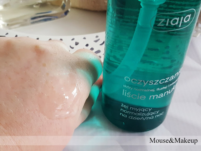 Ziaja Liście Manuka - Żel myjący normalizujący