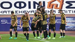 Τα στιγμιότυπα του ΑΕΚ - ΠΑΟΚ 1-0 για την 5η αγωνιστική των play off
