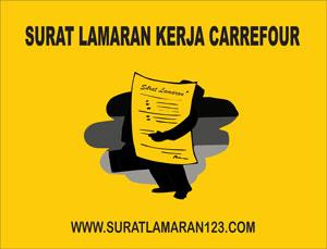 Contoh Surat Lamaran Kerja di Carrefour yang Baik dan Benar