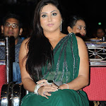 Namitha Hot Saree Stills at Lux Sandal Cine Maa Awards 2011