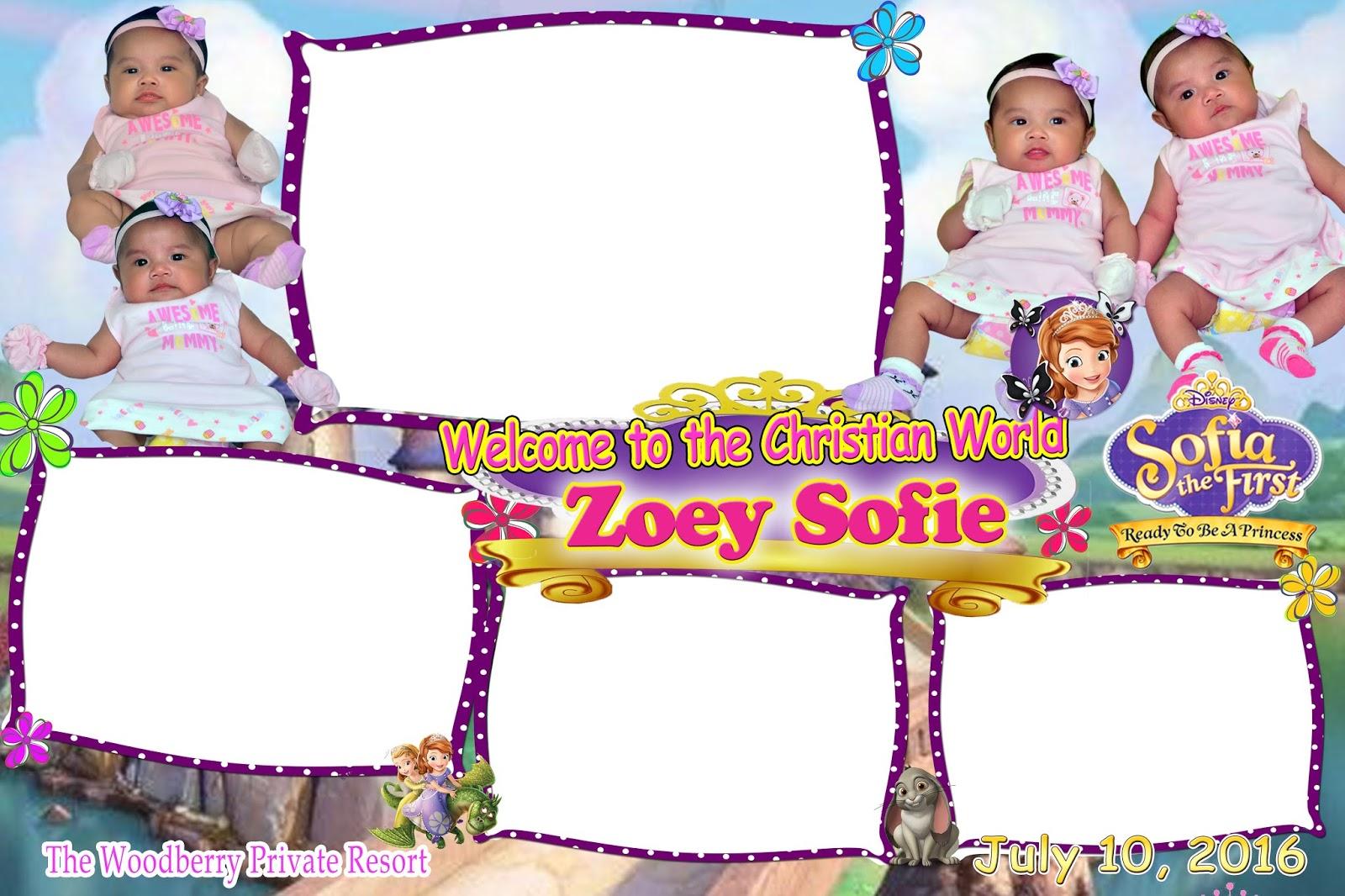 Disney Princess Photo Booth Template Tutore
